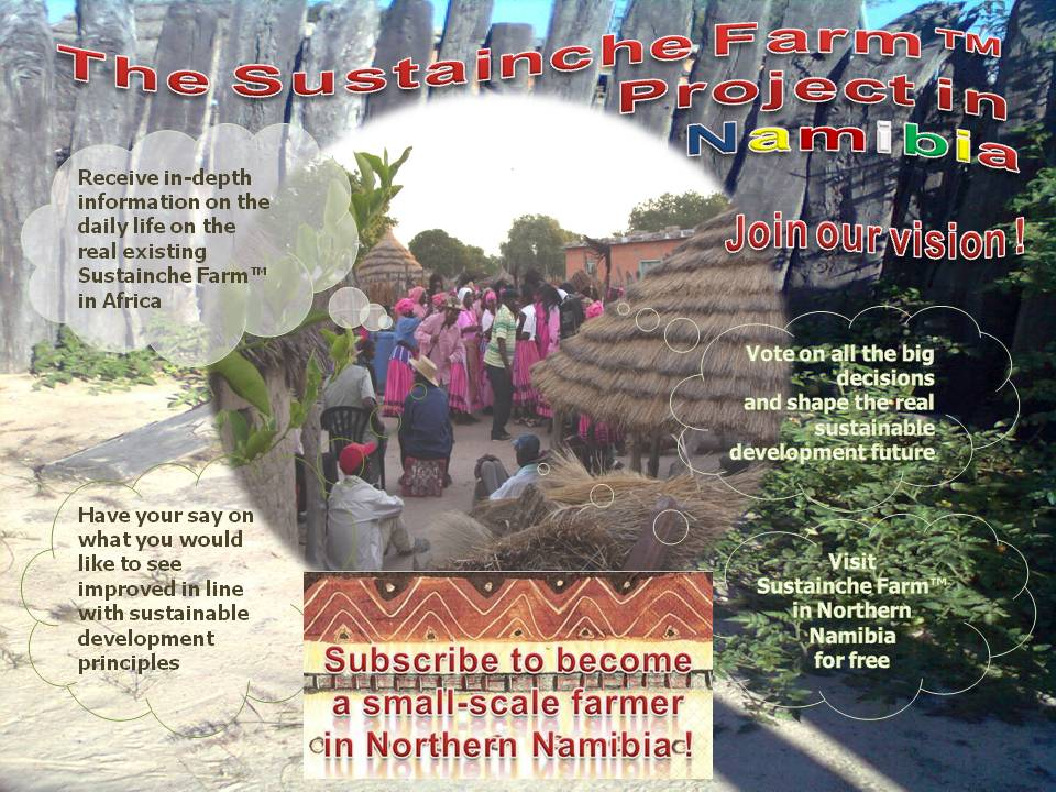 Sustainche's Farm Project Poster Benefits Invitation
