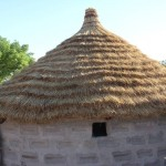 New traditional roof